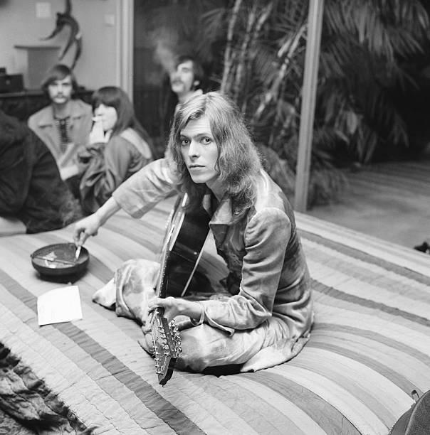 David Bowie At Bingeheimer Party