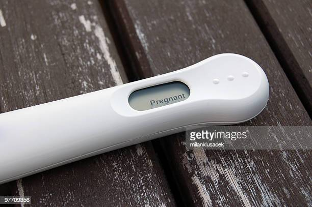 pregnancy test - announcement message stock pictures, royalty-free photos & images