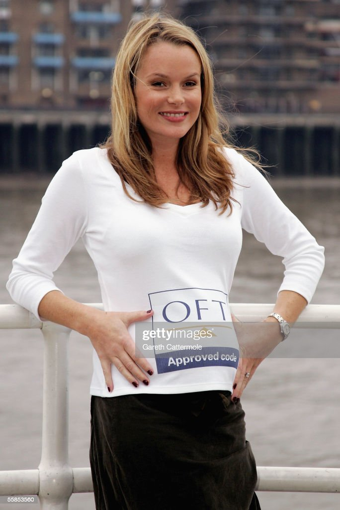 Amanda holden photocall photos and images getty images pregnant actress amanda holden launches the official oft consumer codes approval scheme at the blueprint cafe malvernweather Images