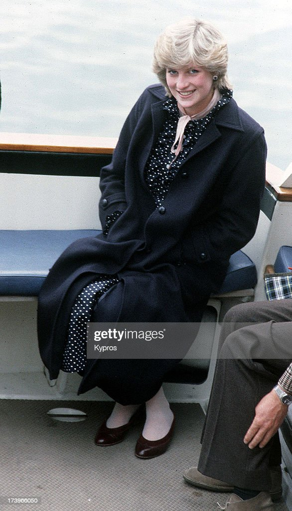 Diana On The Scilly Isles : News Photo
