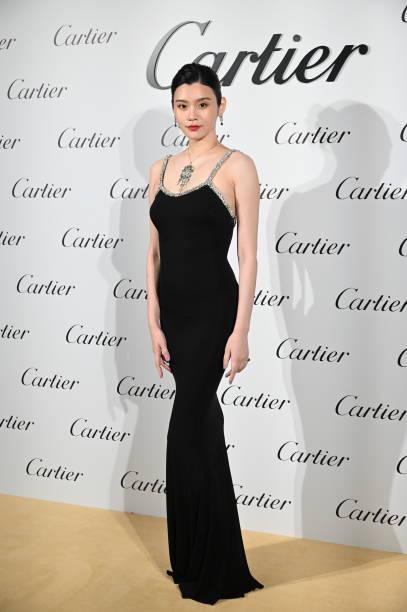 CHN: Celebrities Attend Cartier Event In Shanghai