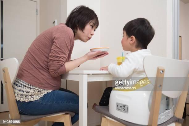 妊娠中の母親の栄養子