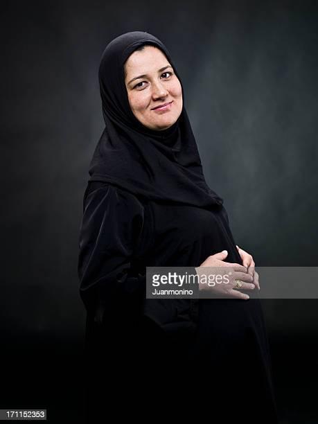 Pregnant Muslim Woman