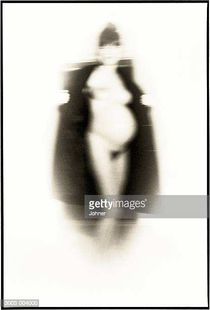 pregnant woman exposes herself - female flasher stock pictures, royalty-free photos & images