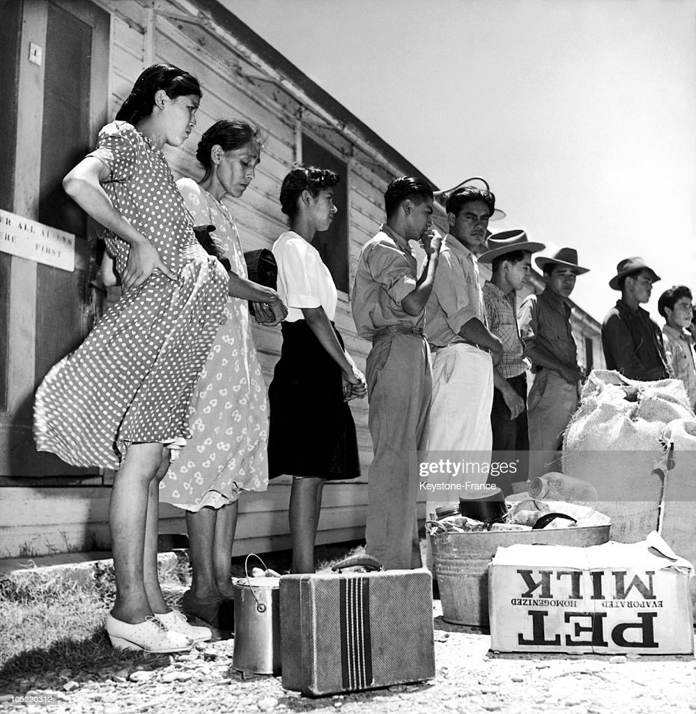 Pregnant Women In The Border Mexican American 1950s News