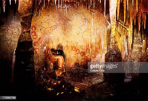 Prehistoric man - inhabitants of France 35,000 years ago. Remains found near town of Aurignac, Haute- Garonne, France. Gives name to Aurignacian...