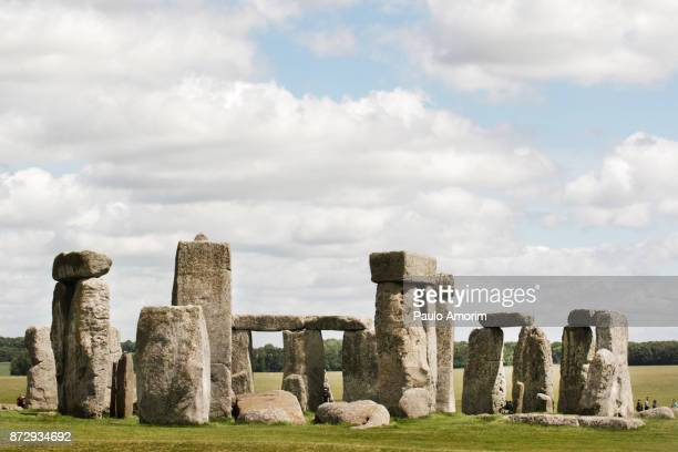 Prehistoric Ruins of Stonehenge in England