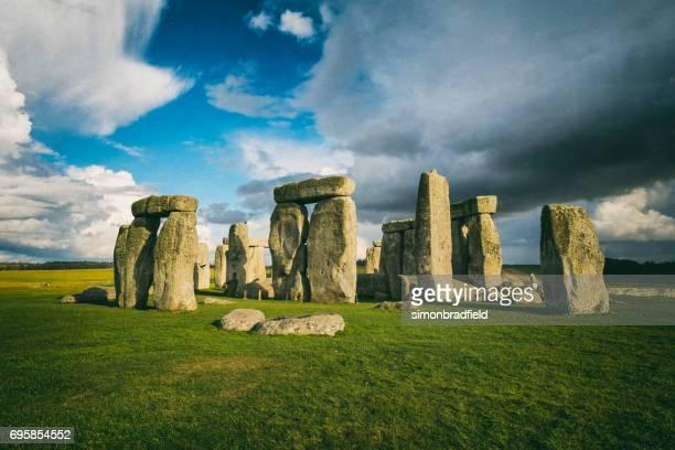 Prehistórico Stonehenge en Wiltshire
