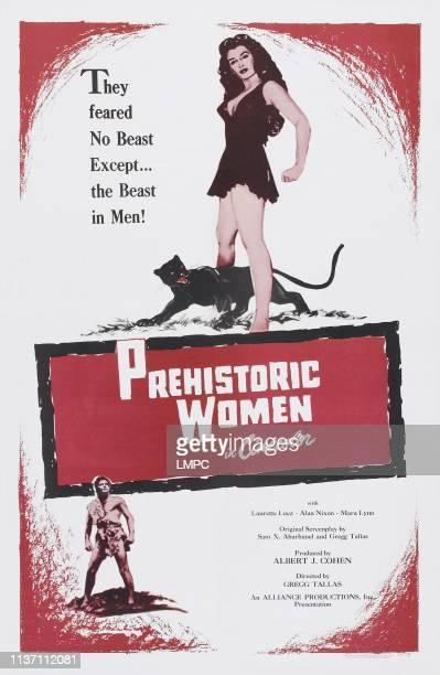Prehistoric Women poster US poster art 1950