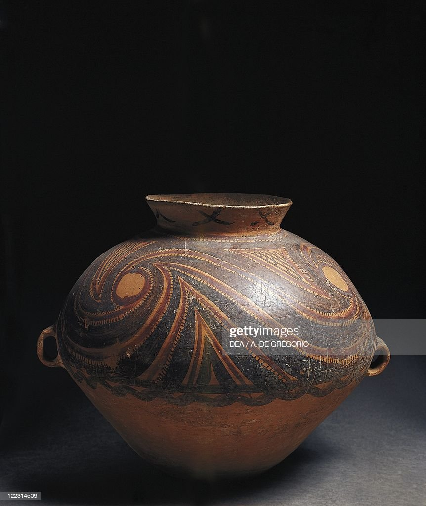 Neolithic yangshao culture ceramic amphora from gansu pictures yangshao culture ceramic amphora from gansu reviewsmspy