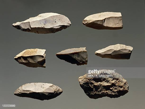 Prehistory Czech Republic Paleolithic Lithic manufacts from Lien