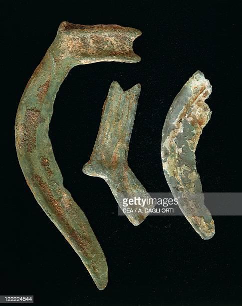 Prehistory Italy Bronze Age Sickles