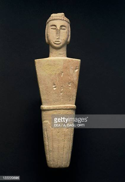 Prehistory Malta Neolithic Votive statue From Brochtorff Circle at Xaghra Gozo Island