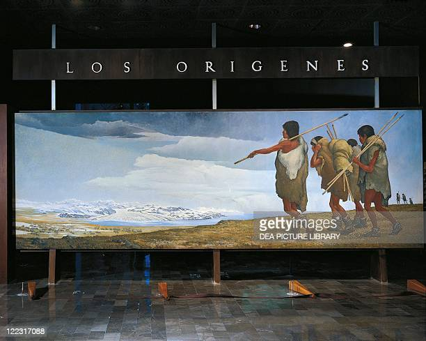 Prehistory Mexico Reconstruction of Asian hunters migration across the Bering Strait during the first ice age Fresco
