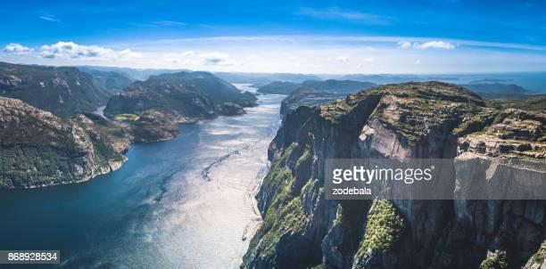 Preikestolen oder Prekestolen Panorama, Norwegen