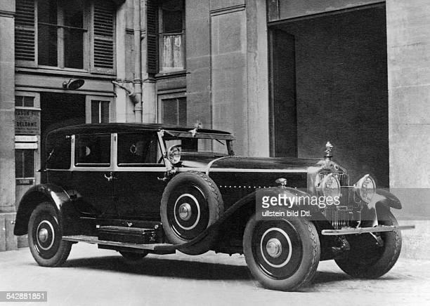 Preisgekrönte Autos Minerva Wagen veröffentlicht in Dame 24/1927