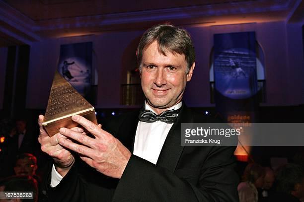 Preisträger Roland Matthes Bei Der Verleihung Goldene Sportpyramide Im Hotel Adlon In Frankfurt Am Main