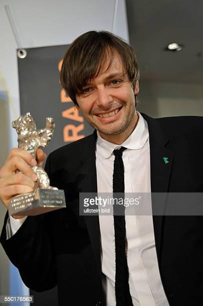Preisträger Ulrich Köhler mit dem Silbernen Bären für den Film -SCHLAFKRANKHEIT- beim RadioEins Berlinale Nighttalk am Rande der 61. Internationalen...