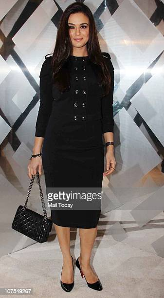 Preity Zinta at an event hosted by Christopher Bailey in Mumbai to celebrate the brand Burberry's presence in India
