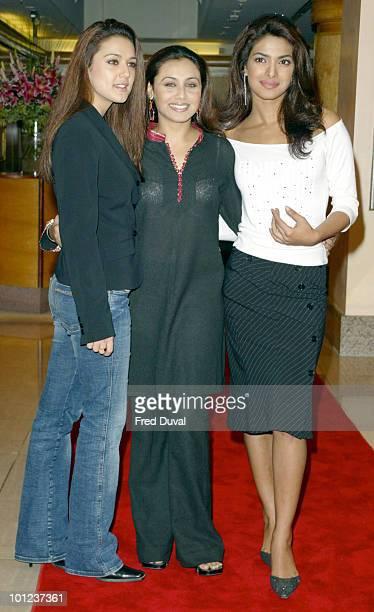 Preity Zinta, Rani Mukherji and Priyanka Chopra