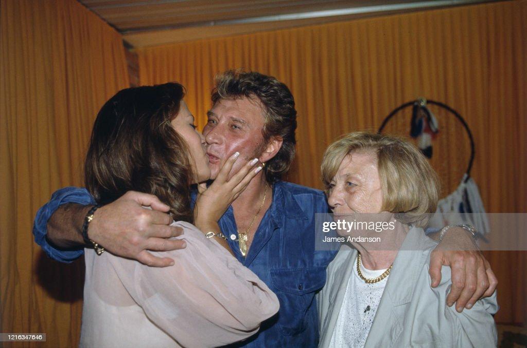 Premier Concert Anniversaire De Johnny Hallyday Au Parc Des Princes A Photo D Actualite Getty Images