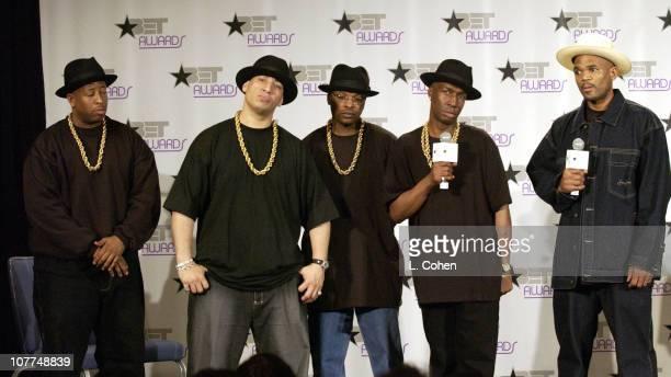 DJ Premier DJ Capri DJ JazzyJeff Grandmaster Flash and Darryl McDaniels DMC of Run DMC