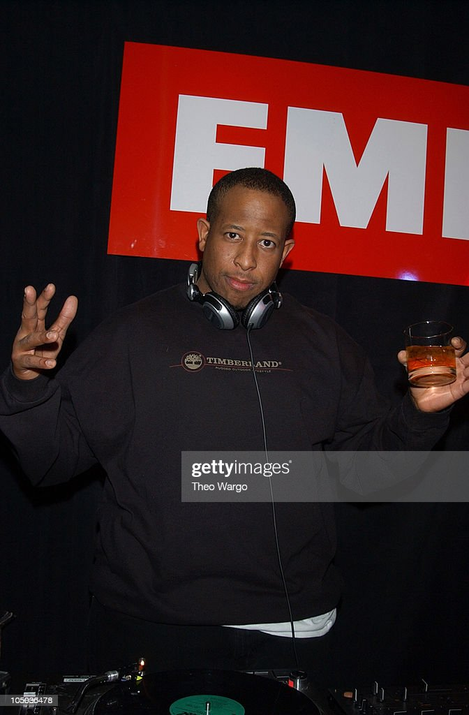 DJ Premier during The 45th Annual GRAMMY Awards - EMI After-Party Celebrates Norah Jones Sweep at Blue Fin and Whiskey in New York City, New York, United States.