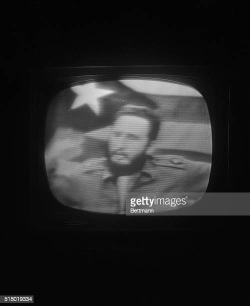 """Premier Fidel Castro, speaking on television, October 23rd, denounced the U.S. Arms blockade of Cuba, as """"the most dangerous adventure since the end..."""