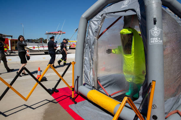 AUS: New Emergency Services Training Facility Opened in Sydney