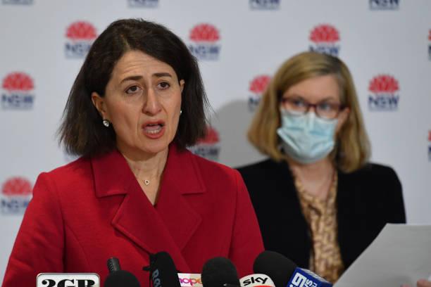 AUS: NSW Premier Gladys Berejiklian Gives COVID-19 Update