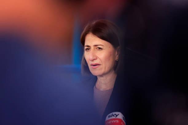 AUS: Premier Gladys Berejiklian Visits Westmead Vaccination Hub