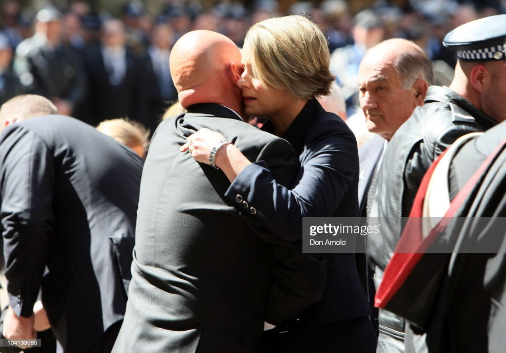 Police Attend Officer Funeral In Sydney