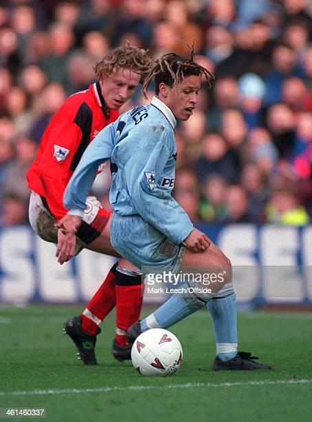 Premier League Football Coventry City v Nottingham Forest Cobi Jones of Coventry