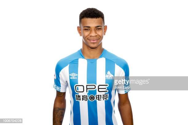 Premier League Headshot of Juninho Bacuna of Huddersfield Town on July 26 2018 in Huddersfield England