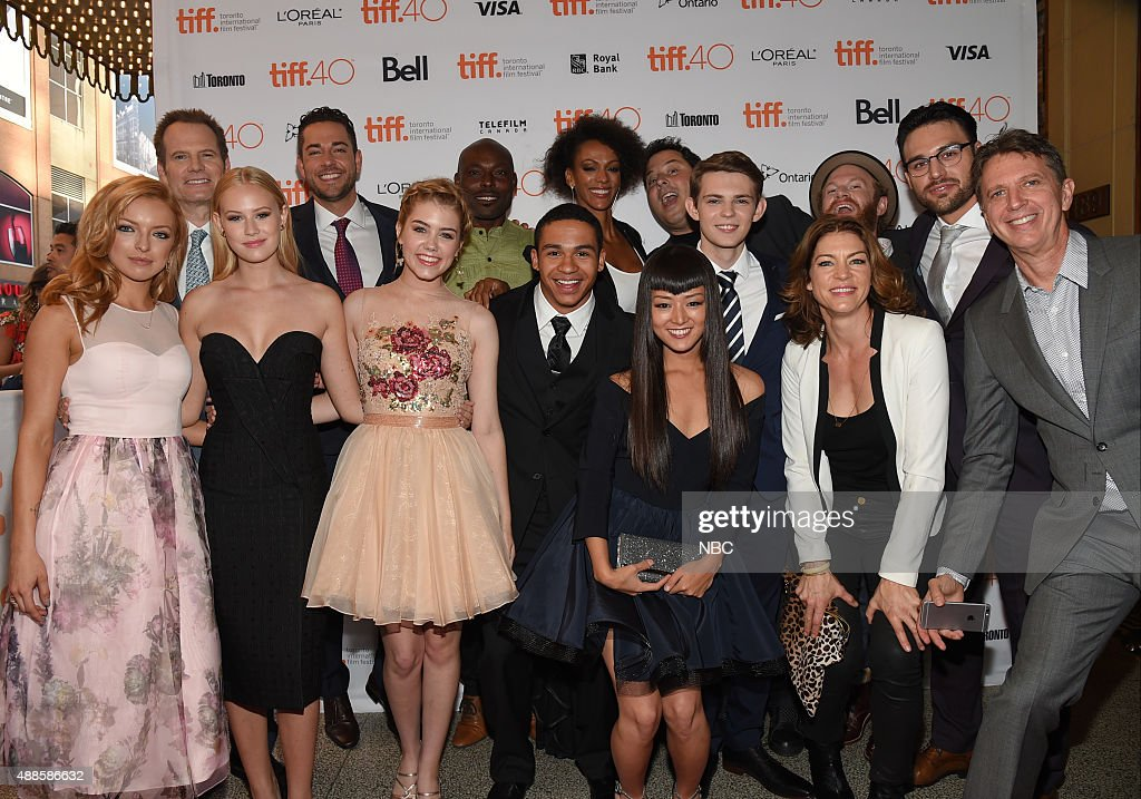 "NBC's ""Heroes Reborn"" Premiere at The Toronto Film Festival"