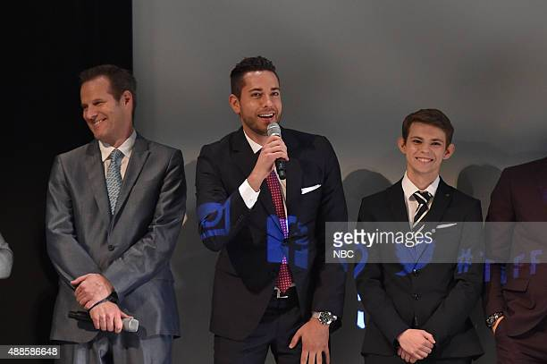 REBORN Premiere at Toronto International Film Festival Pictured Jack Coleman Zachary Levi Robbie Kay