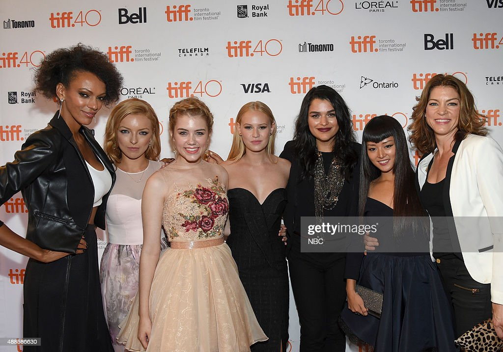 REBORN -- Premiere at Toronto International Film Festival -- Pictured: (l-r) Judoth Shekoni, Francesca Eastwood, Gatlin Green, Danika Yarosh, Eve Harlow, Kiki Sukezane, Rya Kihlstedt --