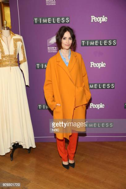 TIMELESS 'NY Premiere Event' Pictured Abigail Spencer