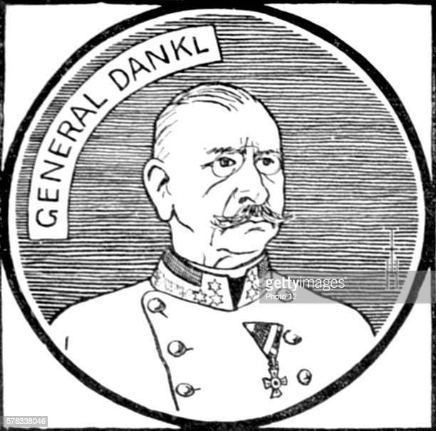 Premiere Guerre Mondiale Portrait of Count Viktor Dankl von Krasnik Austrian General