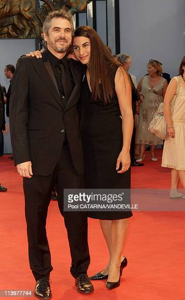 Premiere of 'Children Of Men' In Venice Italy On September 03 2006Director Alfonso Cuaron and Annalisa Bugliani Waron
