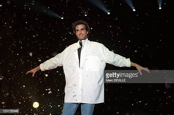 Premiere of David Copperfield's Show In Rotterdam Netherlands On September 03 1994