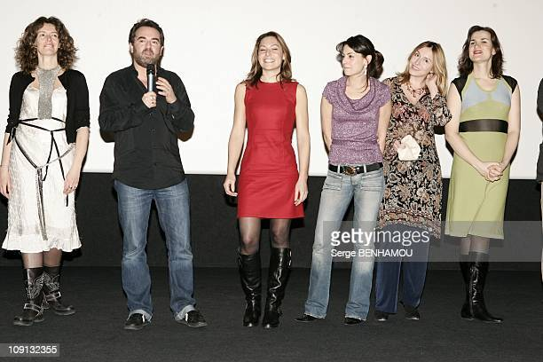 Premiere Of Espace Detente Directed By Bruno Solo And Yvan Le Bolloc H On January 20 2005 In StQuentin France Sylvie Loeillet Bruno Solo Shirley...