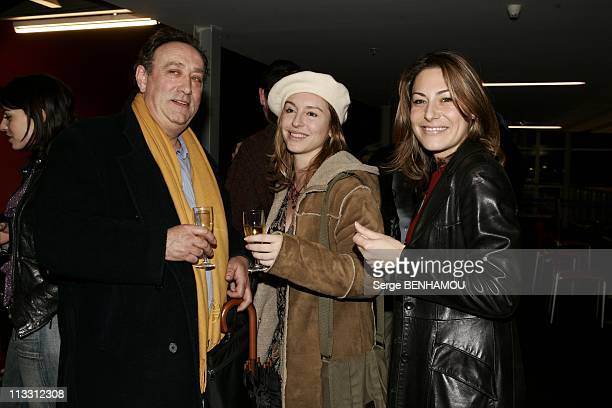 Premiere Of Espace Detente Directed By Bruno Solo And Yvan Le Bolloc H On January 20Th 2005 In Saint Quentin France Gerard Chaillou Jeanne Savary...