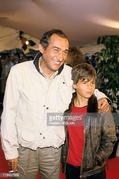 Premiere Of 'Jean De Florette' On August 26th 1986 In ParisFrance