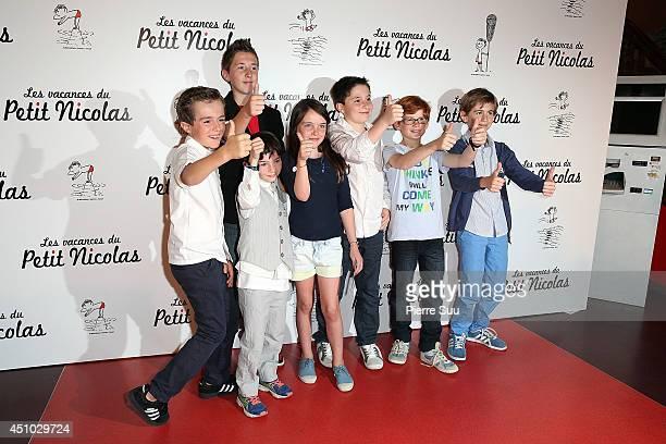 premiere of 'les Vacances Du Petit Nicolas' at Cinema Gaumont Capucine on June 22 2014 in Paris France