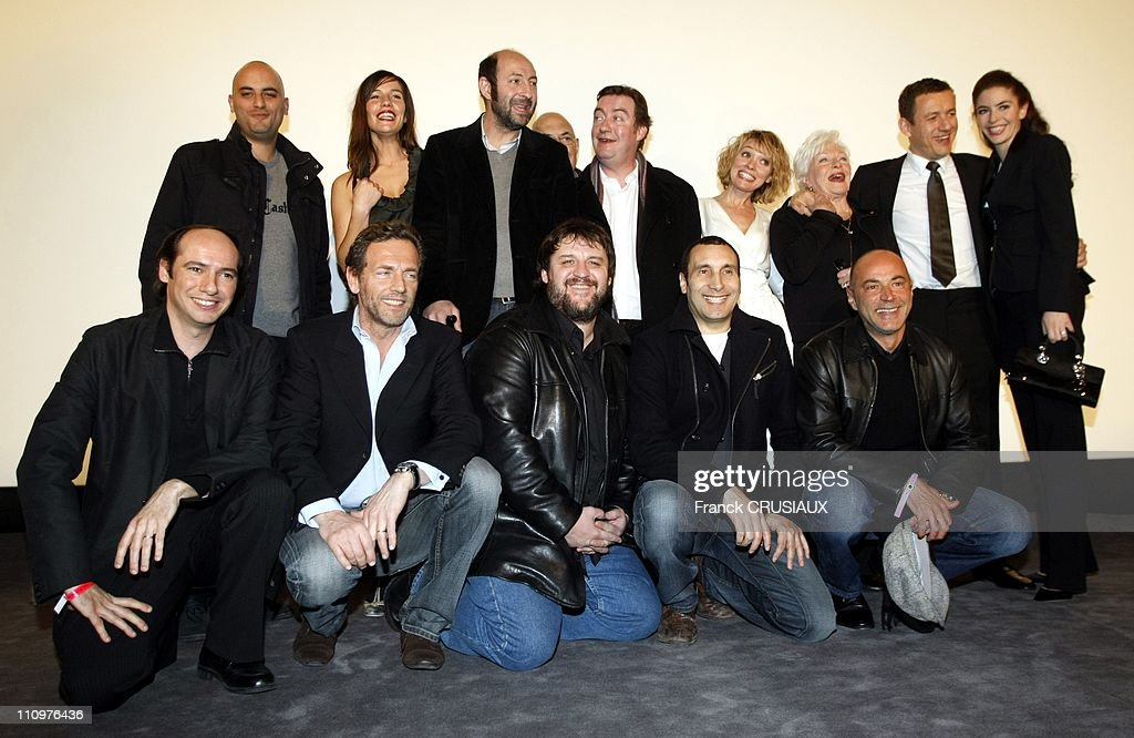 Before national premiere of the movie directed by Dany Boon  Bienvenue chez les chtis  in Lille, France on February 18th, 2008. : News Photo