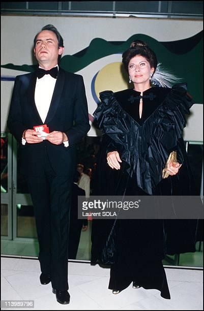 Premiere of the Bolshoy in Paris, France On September 25, 1986-Princess Soraya.