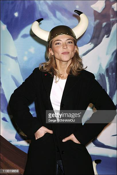 Premiere Of The Film 'Asterix Et Les Vikings' At The Cinema Rex In Paris On March 31St 2006 In Paris France Here Nathalie Vincent