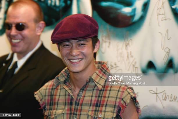 Premiere of the Matrix Reloaded at HKCEC Wanchai Edison Chen Koonhei 16 MAY 2003