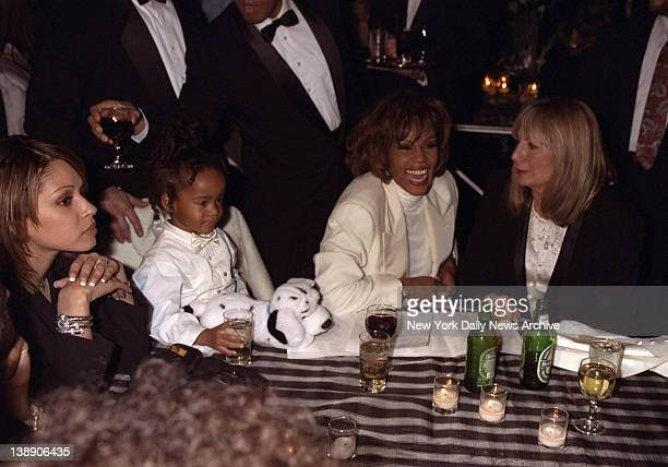 Premiere of The Preacher's Wife at Roseland Whitney Houston with her daughter Bobbi Kristina and Penny Marshall